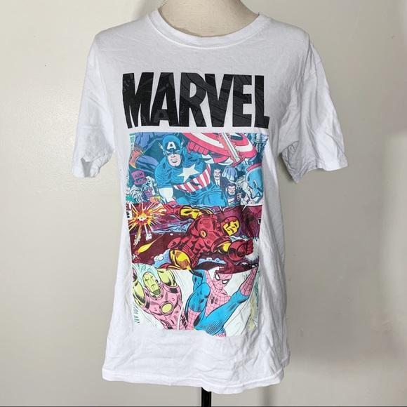 Marvel Other - Marvel Ironman Spider-Man Captain America T-Shirt